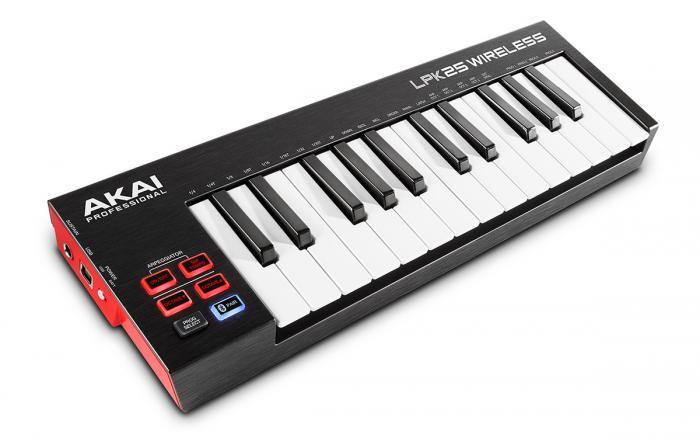 Wireless Bluetooth MIDI Keyboard Controller