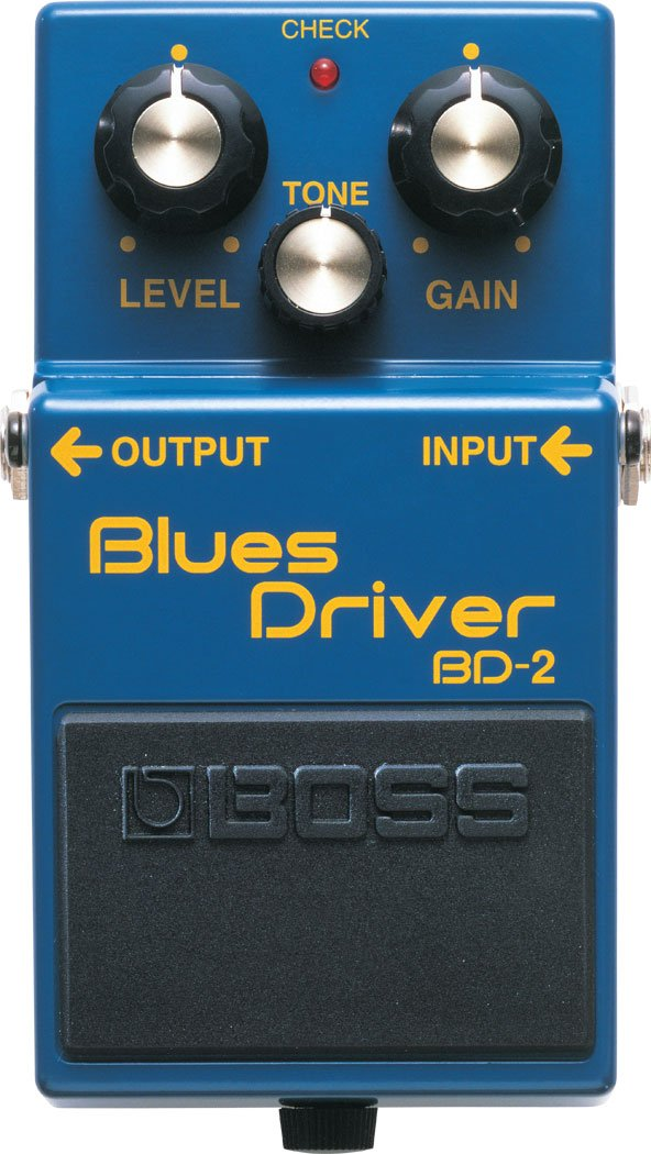 Blues Driver Guitar Distortion Pedal