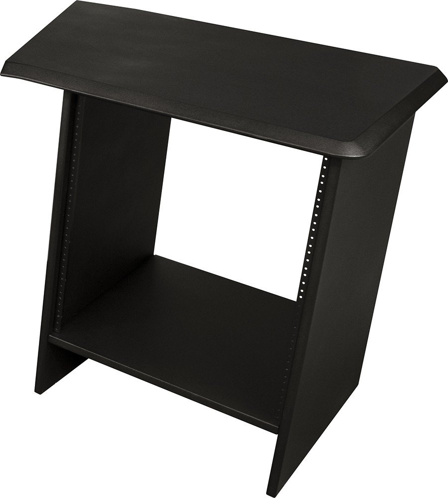 "Nucleus Series Studio Desk Table Top (Right Side) - Single 24"" Extension with 12 Space Rack"