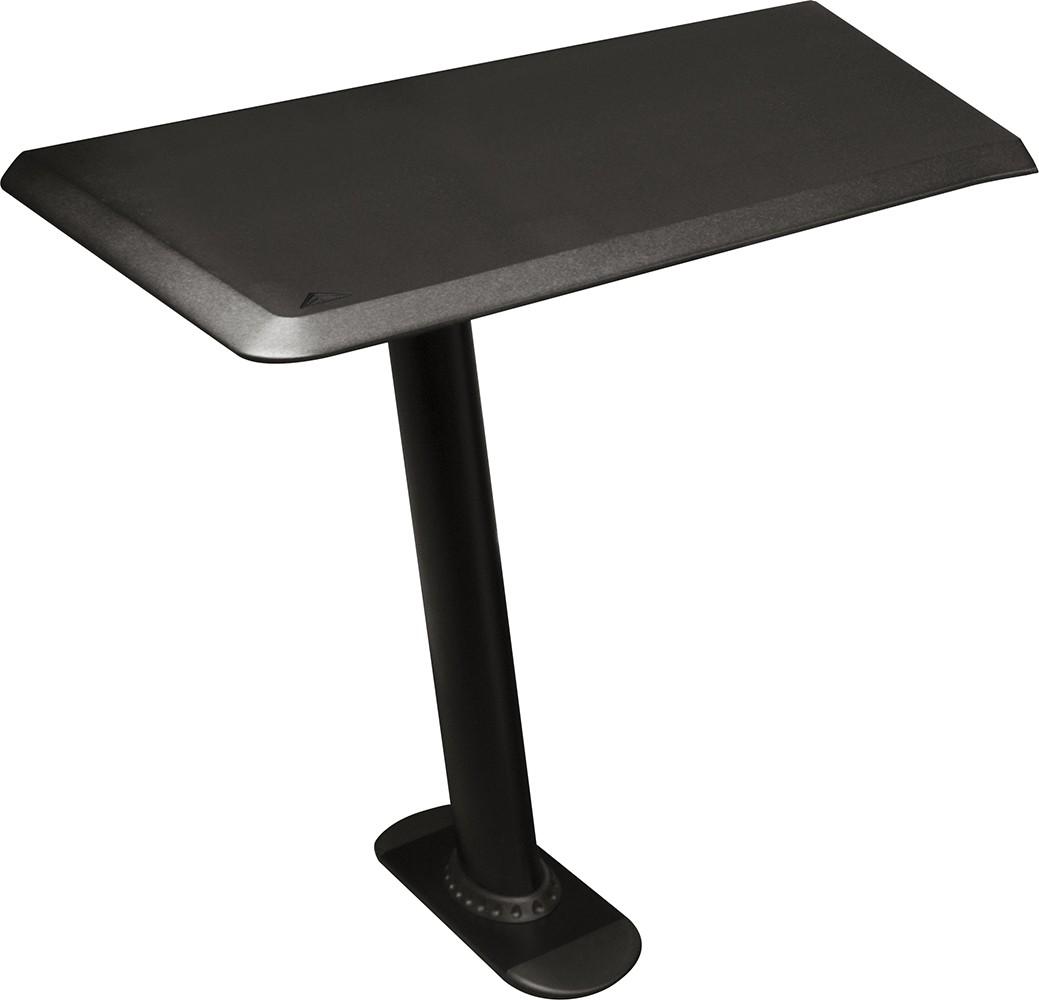 "Nucleus Series Studio Desk Table Top (Left Side) - Single 24"" Extension with Leg"