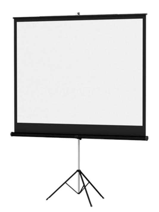 "43"" x 57"" Versatol Matte White Projection Screen"