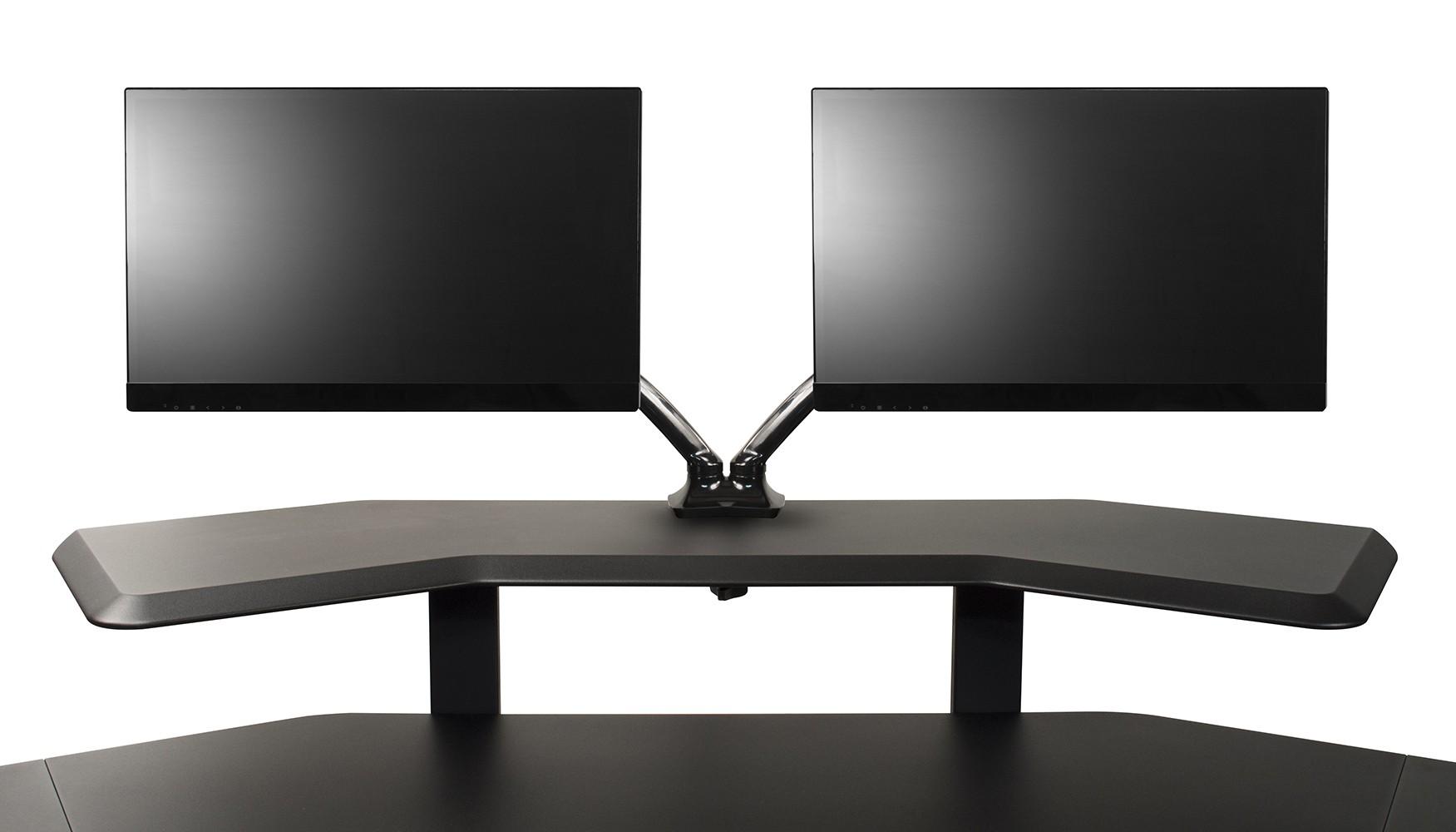 Pleasant Ultimate Support Nuc Mm2 Studio Desk Double Monitor Mount Full Compass Download Free Architecture Designs Xoliawazosbritishbridgeorg