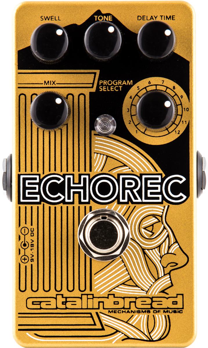 Multi-Tap Echo Guitar Pedal