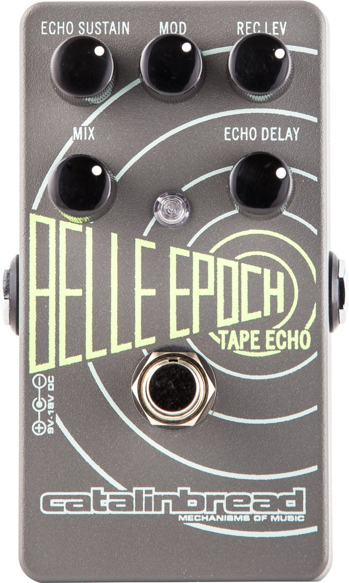 Catalinbread Pedals Belle Epoch EP3 Tape Echo Emulation Pedal BELLE-EPOCH