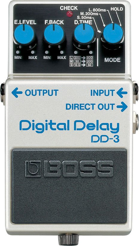 Digital Delay Pedal