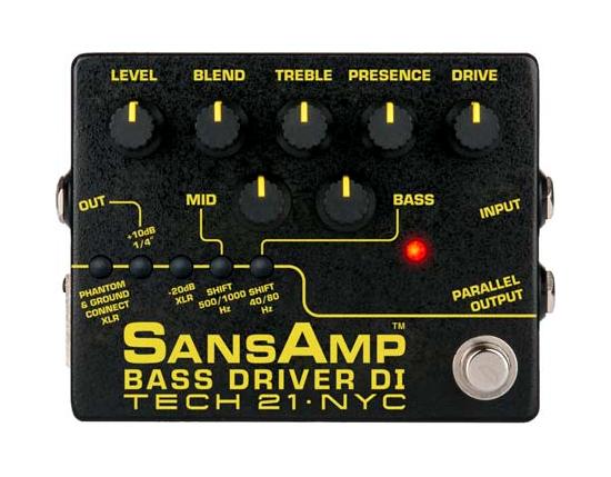 Bass Driver DI Pedal