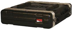 2 RU Deluxe Polyethylene Rack Case