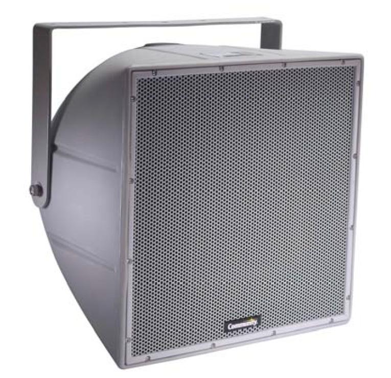 """12"""" 200W Weather Resistant Full-Range 2-Way Nearfield Loudspeaker in White"""