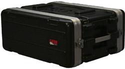 4 RU Polyethylene Shallow Rack Case