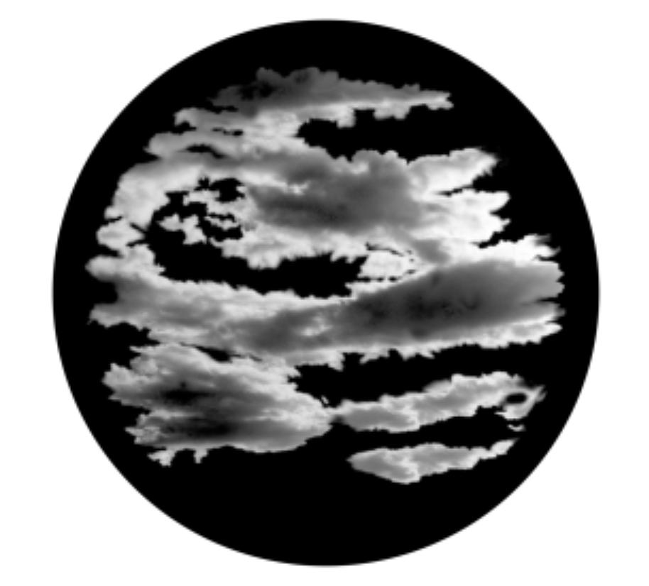 Cloud 9 Glass Gobo