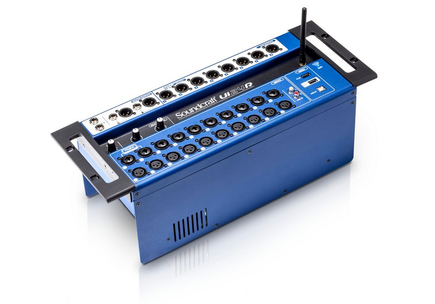 24 Channel Rackmount Mixer with WiFi and USB interface