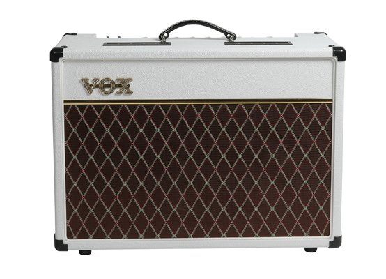 Vox Amplification AC15C1 Limited Edition White Bronco 15W Tube Guitar Combo Amplifier AC15C1WB