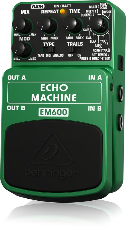 Pedal Ultimate Echo Modeling