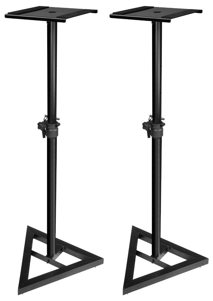 Pair of JamStands Series Studio Monitor Stands with Folding Base