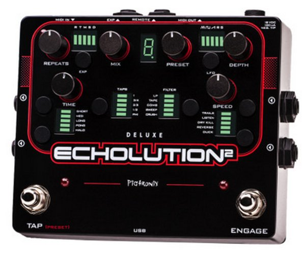 Programmable Multi-Tap Modulation Delay Pedal