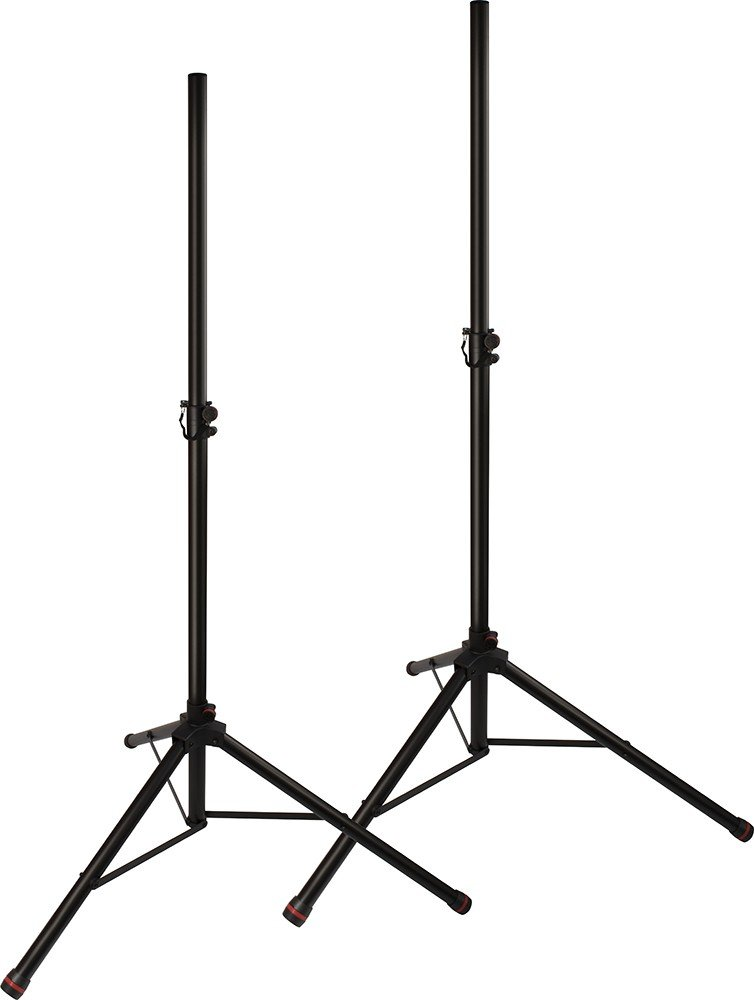 Pair of JamStands Series Tripod Speaker Stands with Personalized Colored Accent Bands