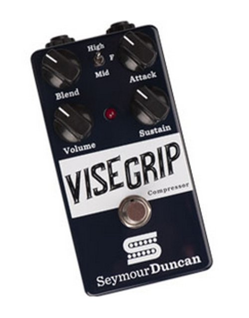 Seymour Duncan Vise Grip Compressor Pedal with Adjustable Compression Ratio 11900-006