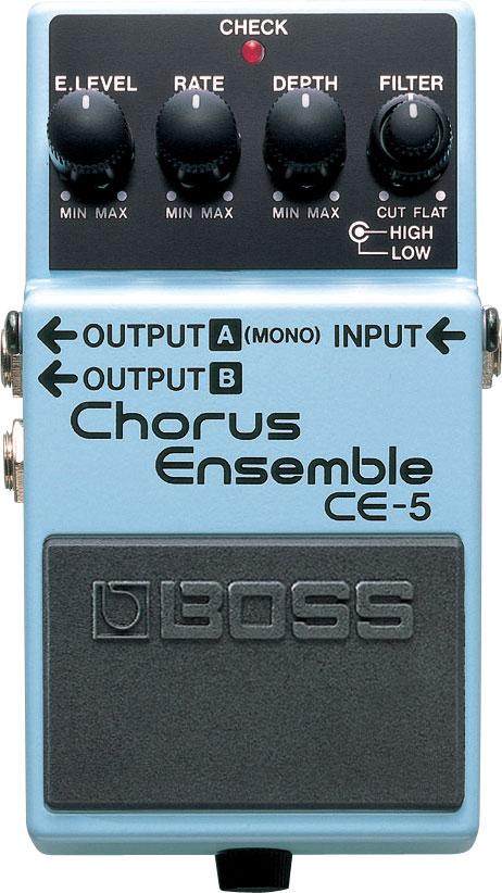 Boss CE5 Stereo Chorus Ensemble Effects Pedal CE5-BOSS