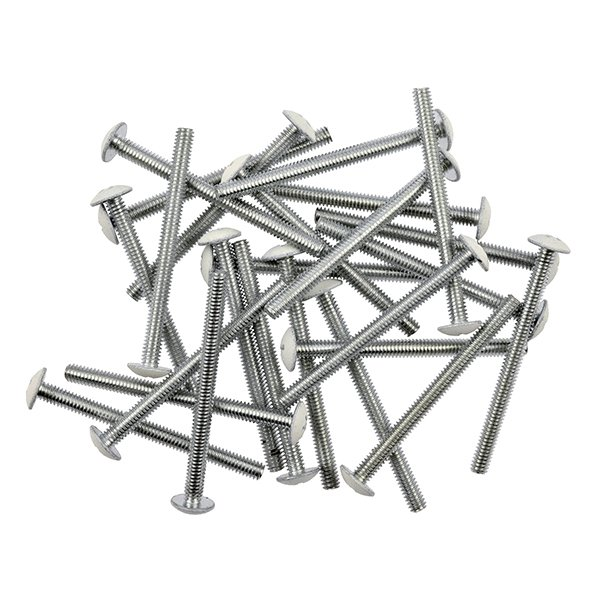 "24x #8-32 x 2"" Zinc Truss Head Phillips Screws"