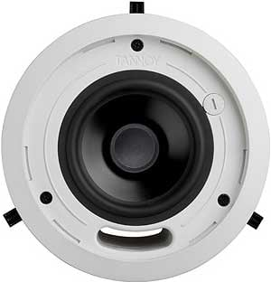 "5"" Ceiling Speaker with Integral Back Can, Blind Mount Version"