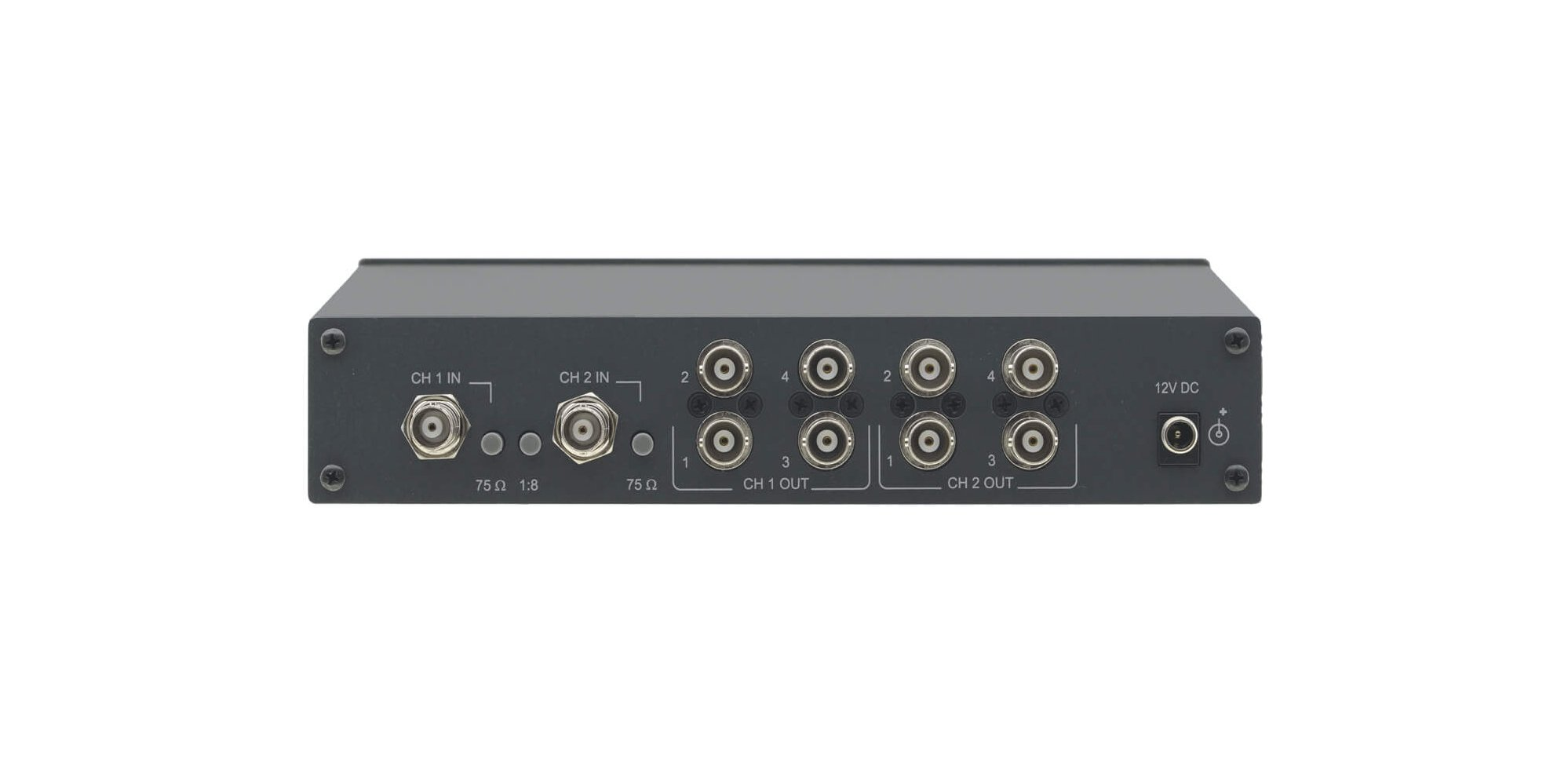 1:8 Composite or SDI Video Distribution Amplifier