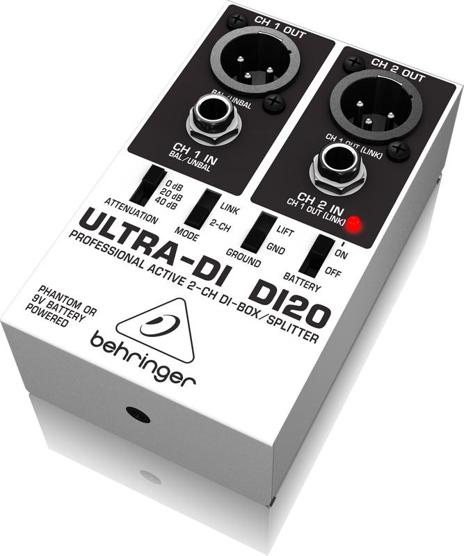 2-Channel Direct Box/Splitter