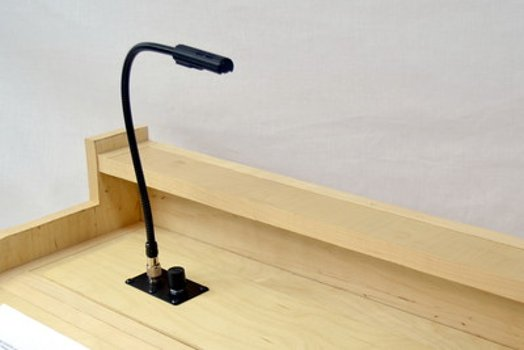 "18"" LED Gooseneck Light with Colorfade™ Dimmer without Power Supply"