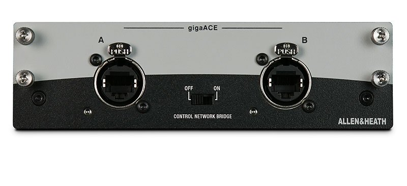 Allen & Heath gigaACE dLive Audio Networking Card M-GIGAACE-A
