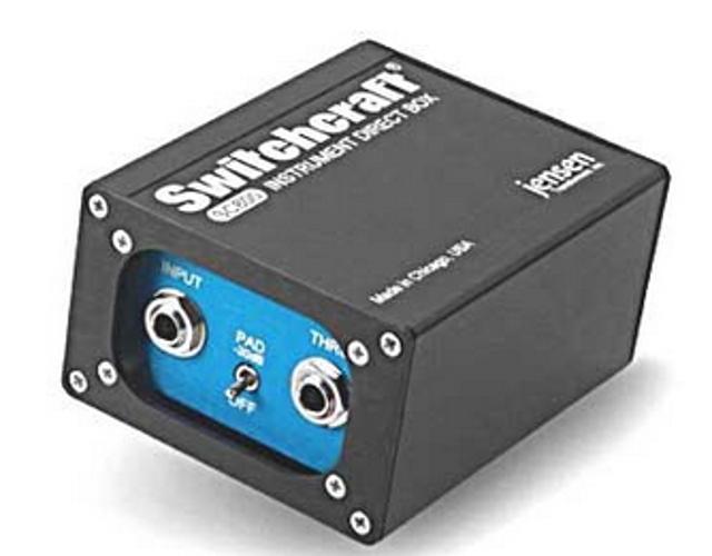 Instrument DI Box, Custom Transformer