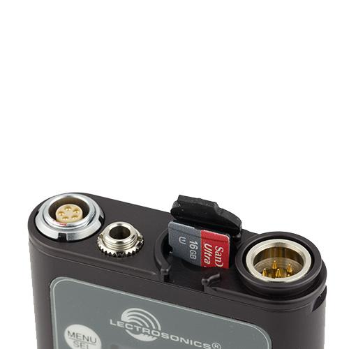 Lectrosonics PDR Portable Digital Audio Recorder, Beltpack Format PDR-LECTROSONICS
