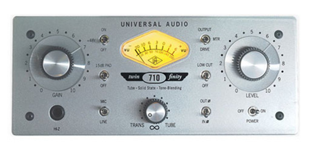 Universal Audio 710-TWIN-FINITY 1-Channel Hybrid Tube