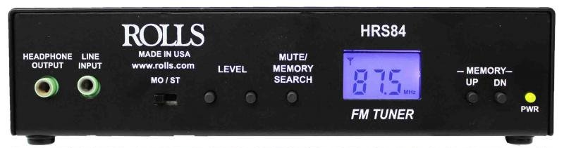 Rolls HRS84  Digital FM Tuner with XLR Outputs HRS84