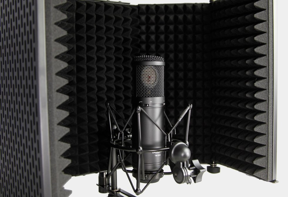 Acoustic Control Filter with Stand-Mount