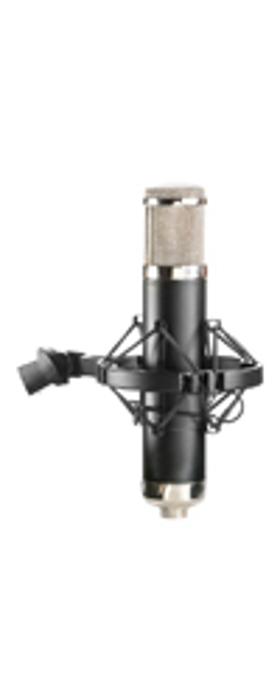 Chrome Apex Multi-Pattern Tube Condenser Microphone in Black