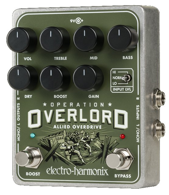 Overdrive Pedal with PSU Included