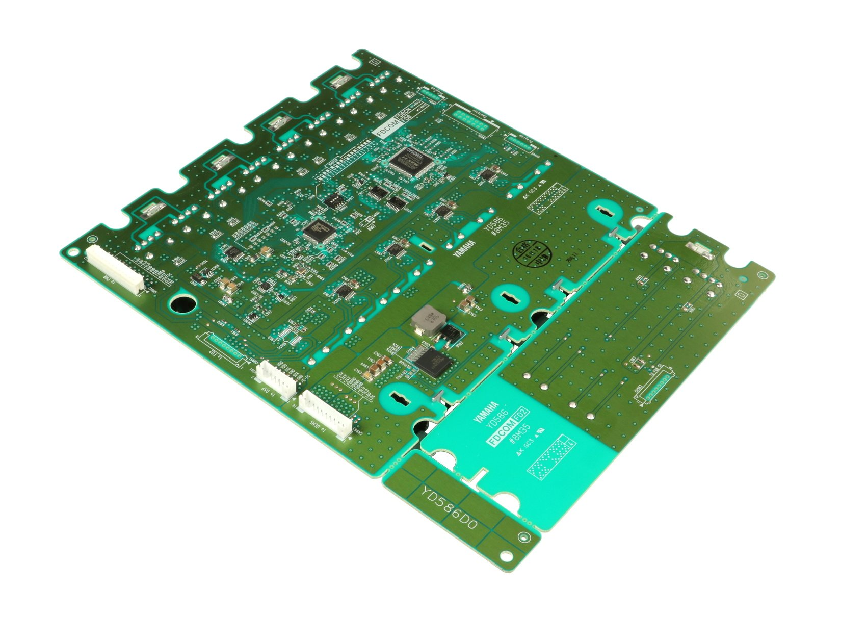 Fader Bank Left 1-8, 9-16 Center PCB Assembly for CL5