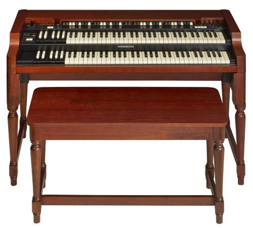 XK System Series Organ, Red Walnut Finish