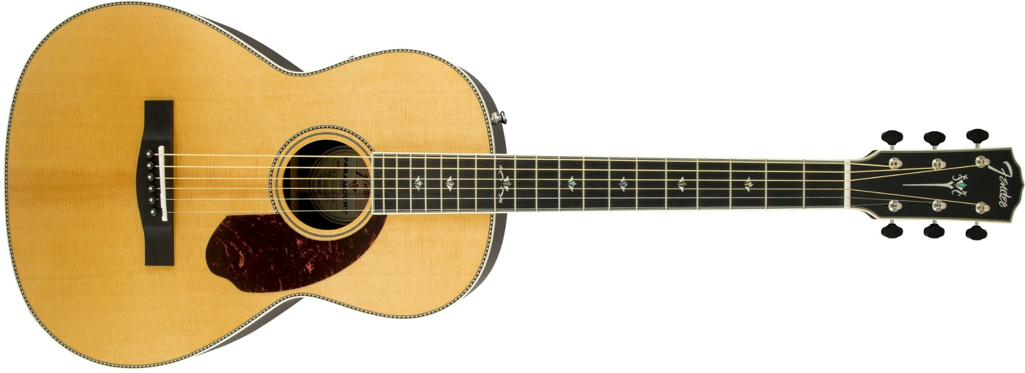 Paramount Series Parlor Acoustic Guitar with Ebony Fingerboard