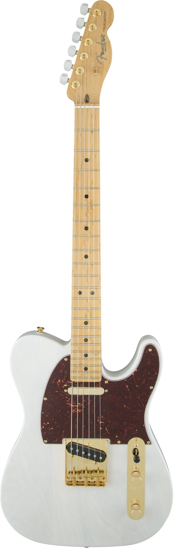 Electric Guitar with Maple Fingerboard, White Blonde Finish