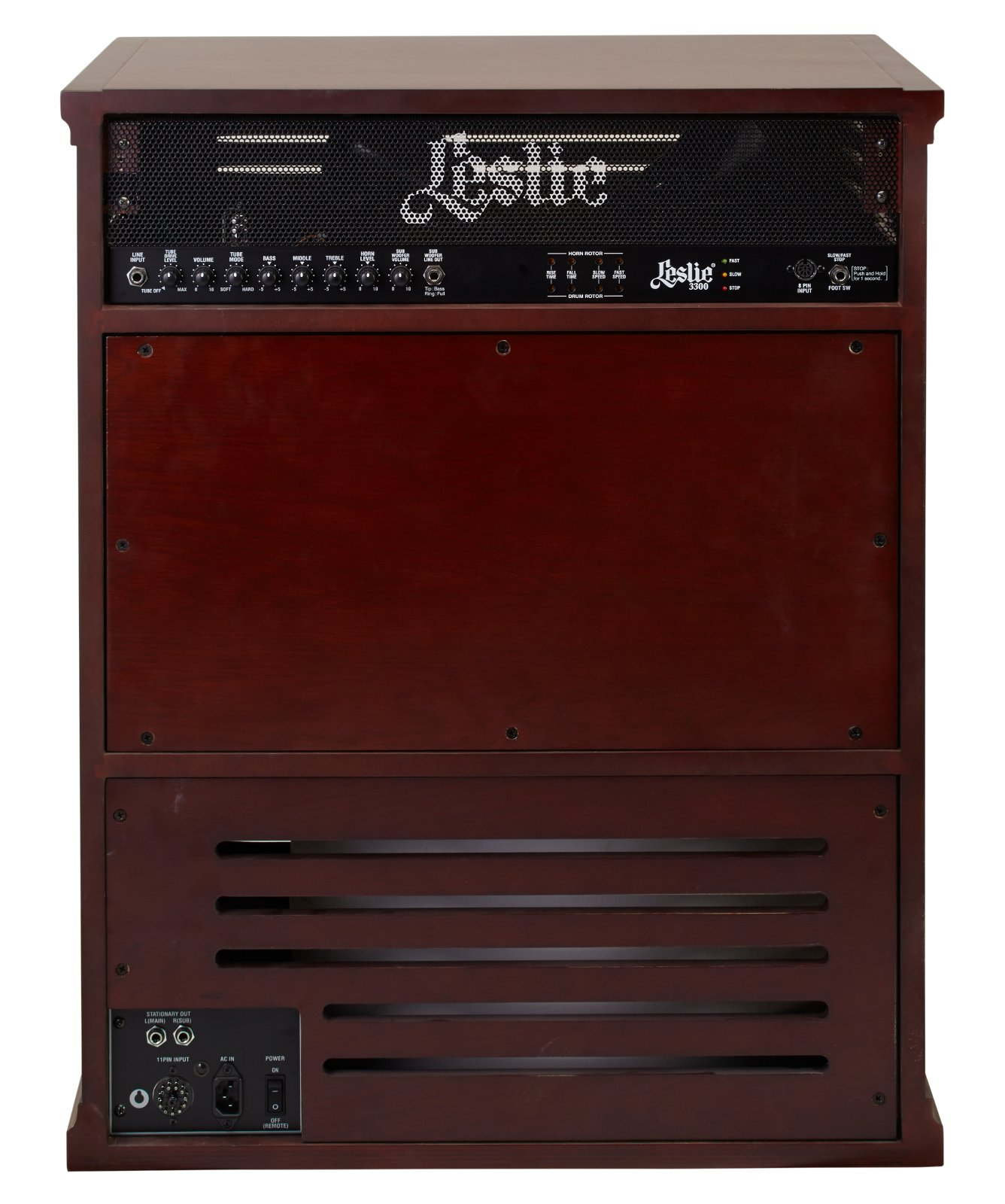 Tone Cabinet, Red Walnut