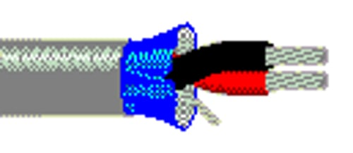 75 ft Multi-Conductor Single-Pair Cable