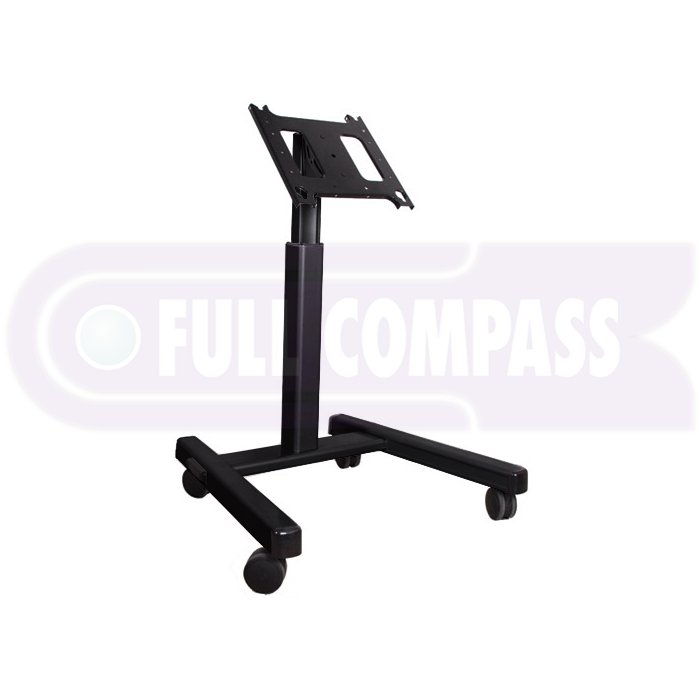 3-4ft Mobile Cart for Flatscreens with 15-45 Degree Viewing Angle