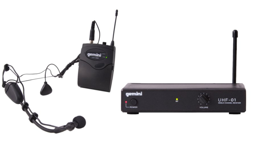 Single Channel Headset/Lavalier Wireless Microphone System