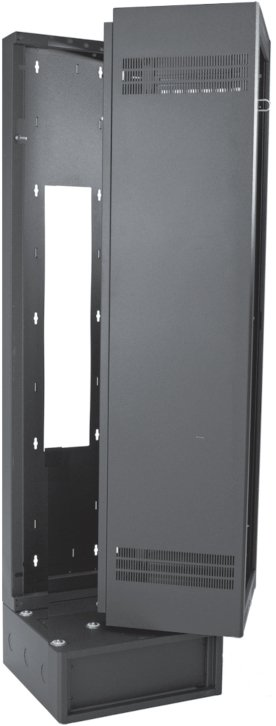 "40RU, 22"" Deep Wall-Mount Rack with Support Base"