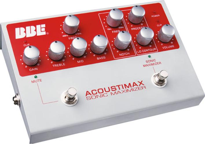 Acoustic Instrument Preamplifier w/ Sonic Maximizer