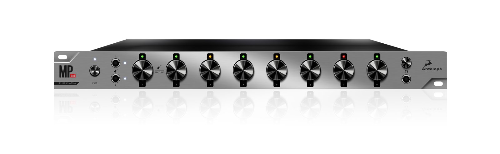 8-channel Mic Preamp and A/D