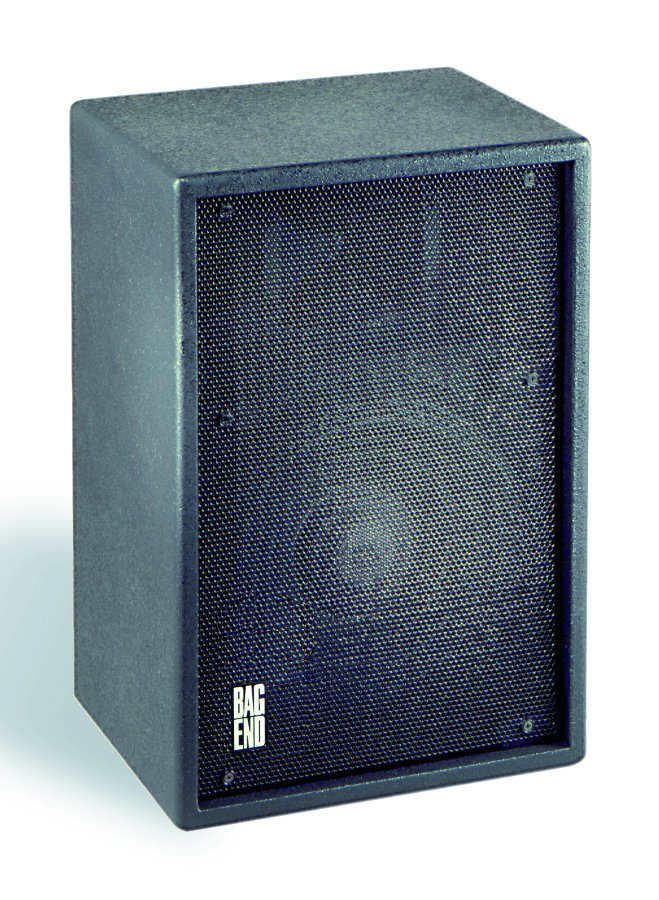 "12"" 2-Way Black Painted Installation Enclosure with Steel Yoke"
