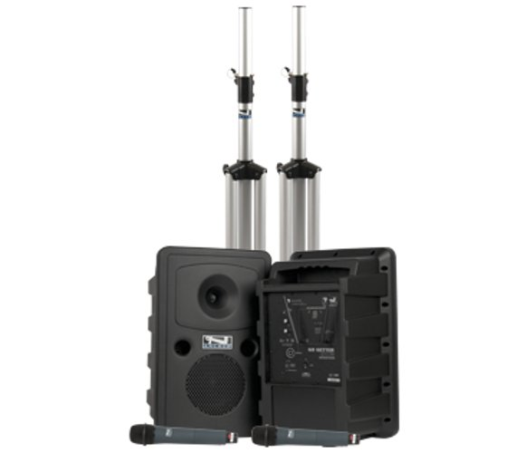 Go Getter Portable PA Deluxe Dual Package