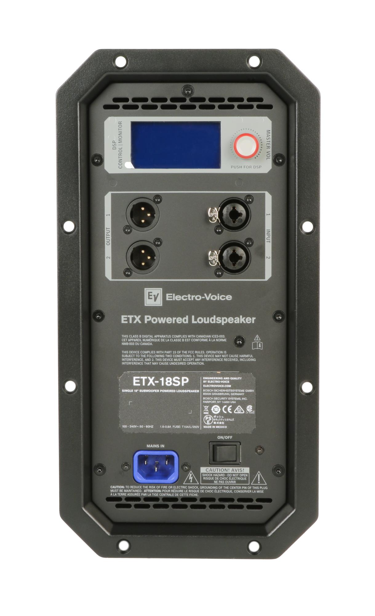Amp Assembly for EV ETX18SP