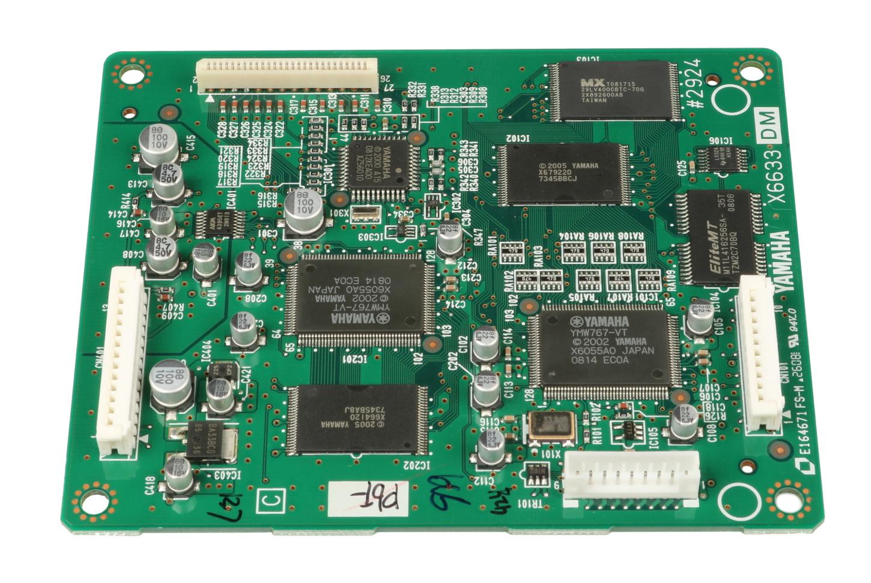 Yamaha WF207701  MAIN DM PCB Assembly for YDP-131 WF207701